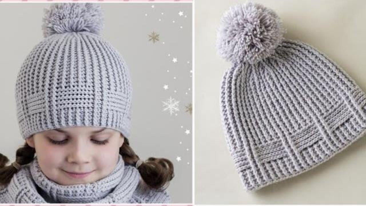 طريقة عمل ايس كاب  كروشيه Ice cap crochet easy for beginners / قناة كروشية يوتيوب