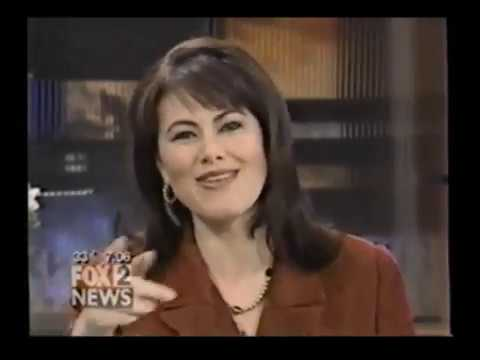 WJBK Detroit: April 11, 2000 FOX 2 Morning - Comerica Park