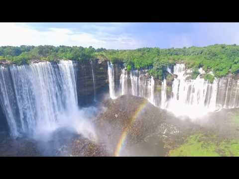 Africa Tourism Turismo Quedas Kalandula Malanje Angola Tourisme Afrique