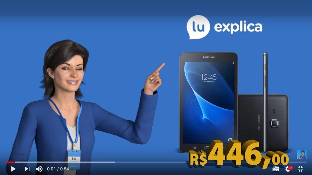 """5746dad1370 Tablet Samsung Galaxy Tab A T280 8GB 7"""" Wi-Fi Android 5.1 Proc. Quad Core  Câmera 5MP + Frontal"""