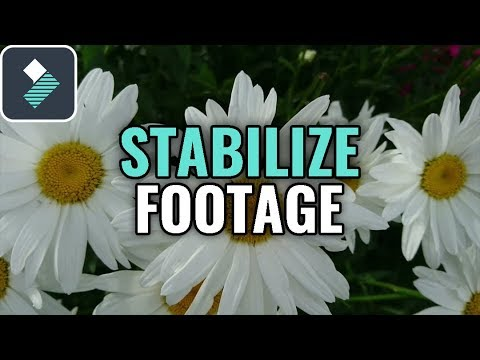 How to Stabilize SHAKY VIDEO Footage in Wondershare Filmora Tutorial