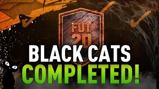 Black Cats SBC Completed - Cheapest Method - Fifa 20