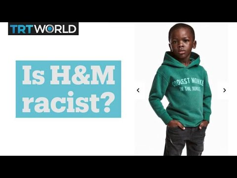 controversy over h m ad youtube