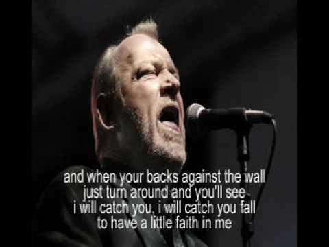 Joe Cocker - have a little faith in me + lyrics