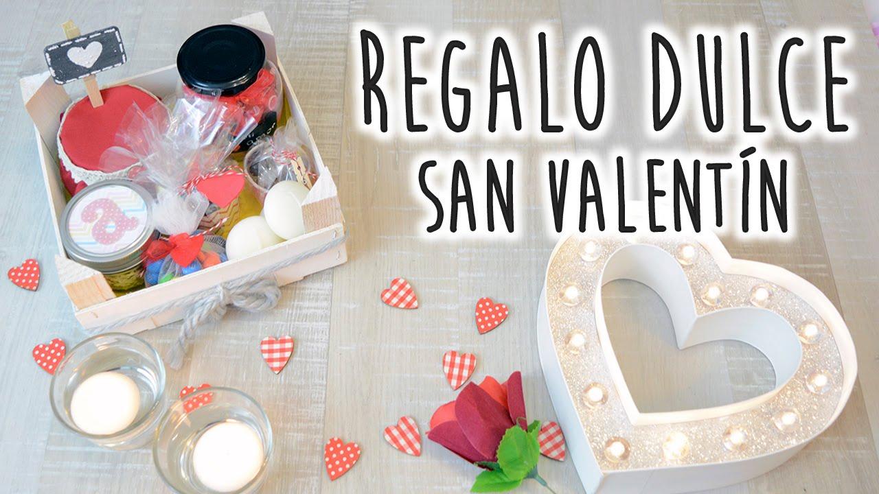 Cesta de regalos dulces para san valent n diy youtube - Dulces de san valentin ...