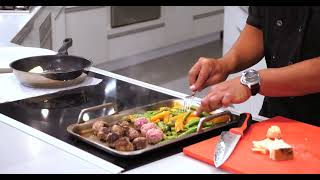 Chef Anthony demos Meatballs on Bosch Induction