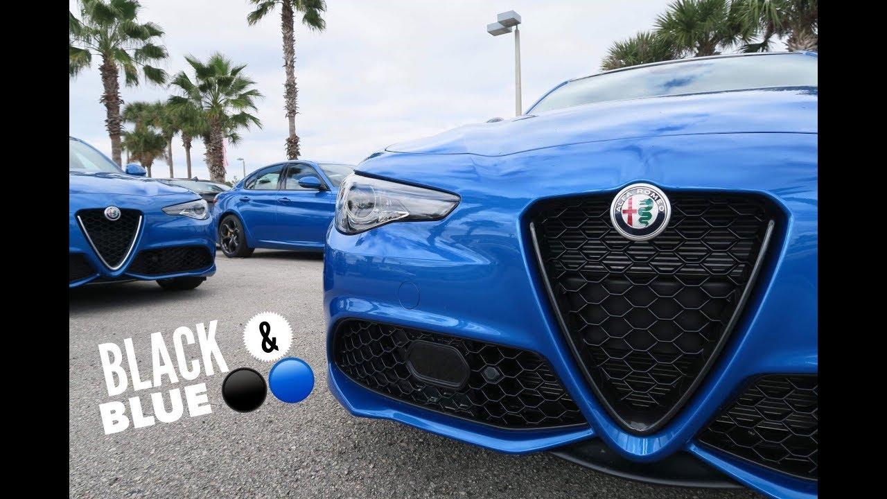 Finally Nero Edizione Misano Blue 2019 Alfa Romeo Giulia Youtube