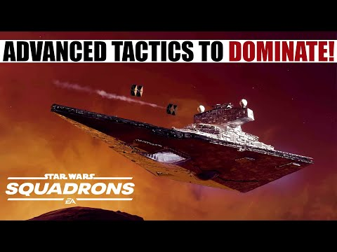 Advanced Starfighter Techniques + Tactics in Star Wars Squadrons! (Game Tested!)