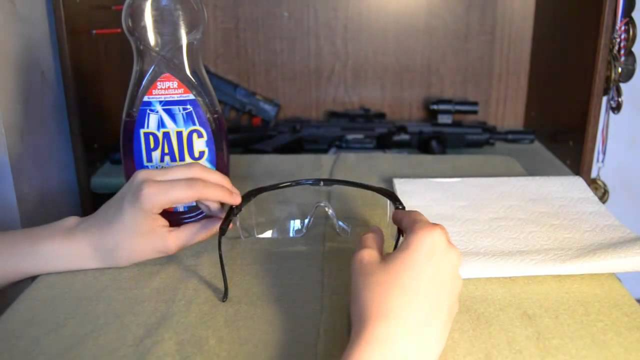 Tuto comment éviter la buée dans vos lunettemasque youtube