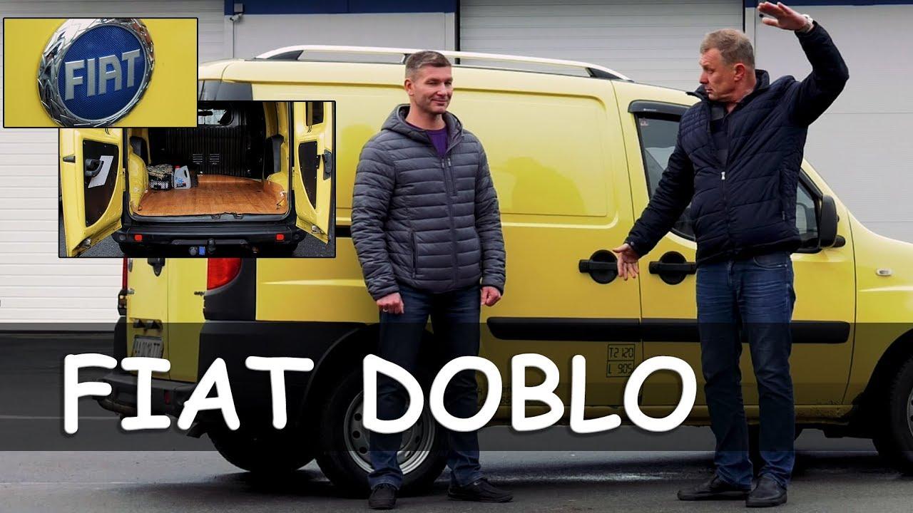Обзор Fiat Doblo 2008 года. Фиат Добло 2008 - старая кляча или рабочая лошадка?