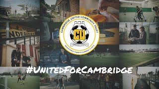 #UnitedForCambridge