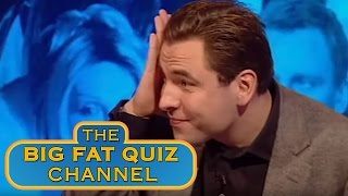Jonathan Ross and Cat Deeley Nearly Blind David Walliams - Big Fat Quiz Of The Year