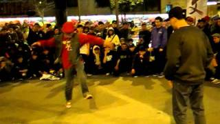 Bboy YNOT vs Bboy AYA @Culture Shock Jam3 Day1 Top Rock Battle.MOV