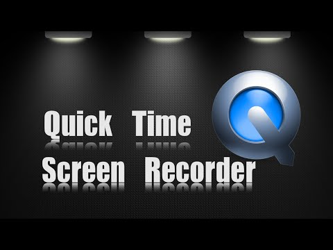 Apple Mac | Quick Time Screen Recorder