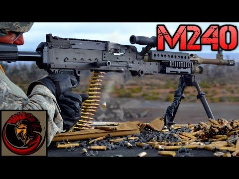 The M240 Machine Gun | Americas Medium Machine Gun