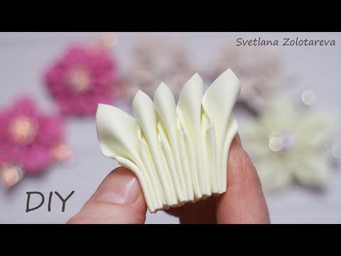 Какой вариант Вам нравится больше �� 3 лепестка �� Заколка ��Цветы из фоамирана