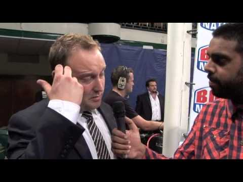 Francis Warren POST-SHOW Interview for iFILM LONDON / QUEENSBERRY PROMOTIONS / BOXNATION
