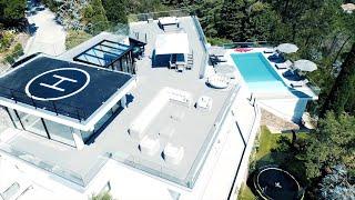 Drone villa de luxe