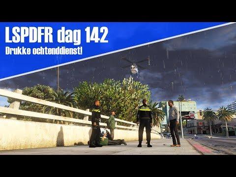 GTA 5 lspdfr dag 142 - Drukke ochtenddienst! achtervolging te voet + slechtnieuws gesprek