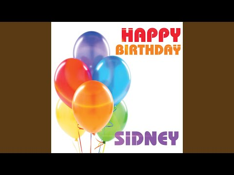 Happy Birthday Sidney