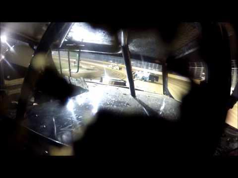 Matt Thulin Outlaw motor speedway IMCA Northern sport mod heat 8-10-13