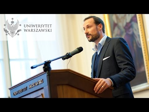 "Haakon, Crown Prince of Norway ""Development and Dignity"""