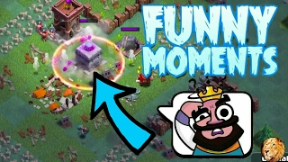 Funny Moments & Glitches & Fails Compilations | Clash of Clans Montage #1