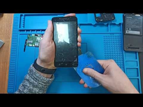 Lenovo Vibe C (2020a40) | Замена тачскрина (сенсора)
