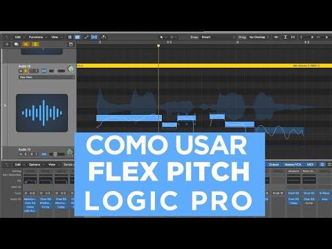 Flex Pitch Logic Pro X- Afinar várias Vozes e Back Vocais