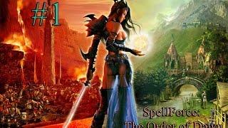 Прохождение SpellForce The Order of Dawn 1