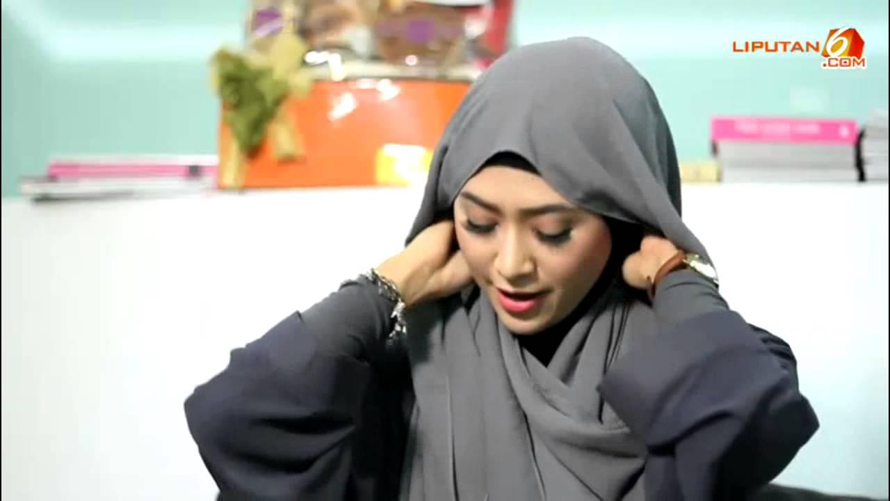 Cara Memakai Jilbab Pashmina Simpel Tanpa Jarum YouTube