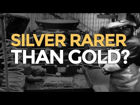 Silver Rarer Than Gold? - Mike Maloney - Why Gold & Silver?