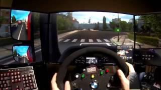 ETS2 ProMods | Menudo Viajecito!!! - Mercedes Benz Actros @ Milán - Grödig - OSW Simucube
