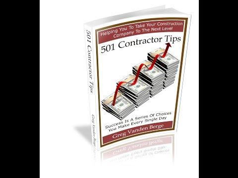 Business Partners - Contractor Tip #12