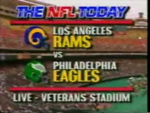 NFL Today Intro - September 1986