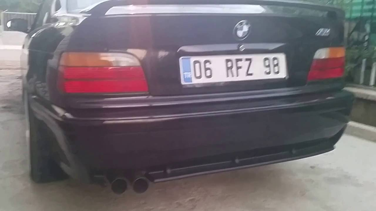 BMW E36 M52 EXHAUST