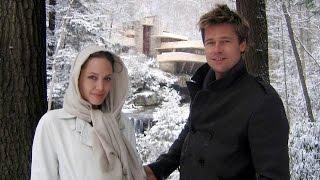 Angelina Jolie and Brad Pitt in the life of the photo. Анджелина Джоли и Бред Питт в жизни на фото