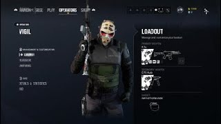 NEW LEGENDARY HEADGEAR VIGIL OPERATION CHIMERA RAINBOW SIX SIEGE