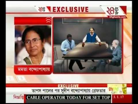 Live from CGO Complex: CBI arrests TMC MP Sudip Bandyopadhyay