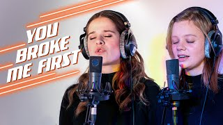 The Voice Unlimited | Laura Tesoro & Selina coveren 'You Broke Me First' van Tate McRae