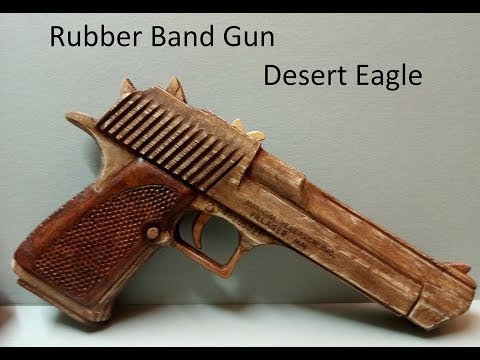 Rubber Band Gun DesertEagle