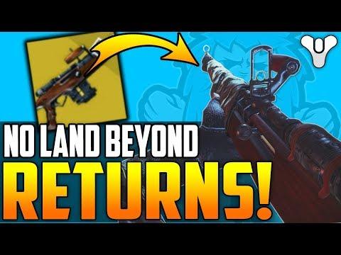Destiny 2 NEWS - No Land Beyond Returns!! - (Coming May 8th Expansion 2 - NLB v2)