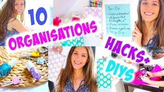10 Organisations LIFE HACKS + DIYs ♡ |BarbieLovesLipsticks