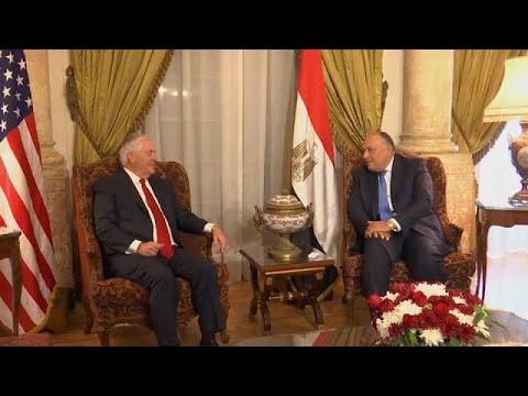 """Tillerson al Cairo: """"Lotta comune al terrorismo"""""""