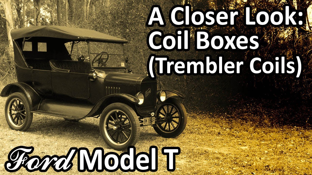1925 model t ford wiring diagram honda civic audio a closer look coil boxes trembler coils youtube