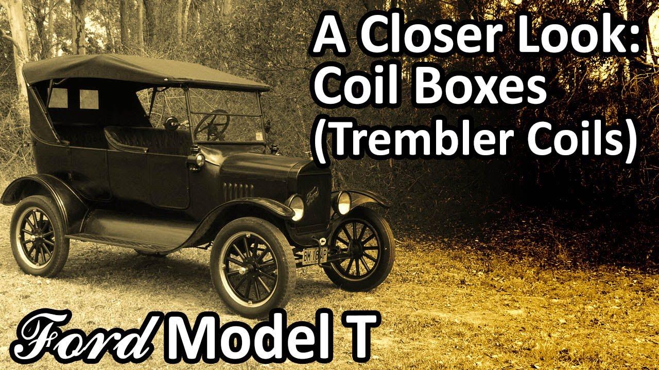 ford model t a closer look coil boxes trembler coils  [ 1280 x 720 Pixel ]