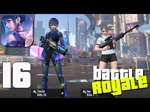 Cyber Hunter - Gameplay part 16 - Battle Royale DUO 16 kills(iOS, Android