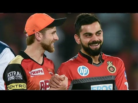RCB VS SRH || VIVO IPL 2018 || KANE WILLIAMSON HYDERABADI INTERVIEW