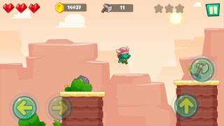 Jungle Adventures: Super World - Sahara Level 1... Gameplay (Free Game On Android)