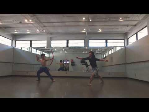 バレエダンサーによるピルエットがこちらです。(2018年2月3日)Ballet Dancer Pirouette Turn Every day